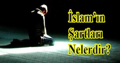 İslam'ın-Şartları-Nelerdir