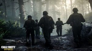 call of duty wwii screen