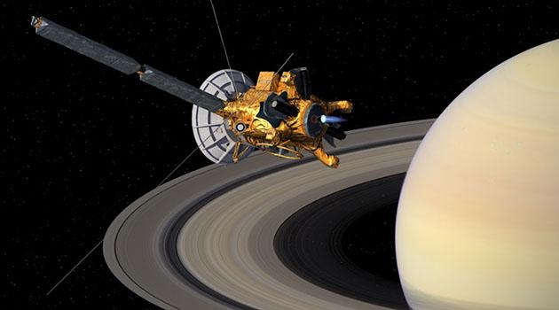 Cassini bugün düşürülüyor!