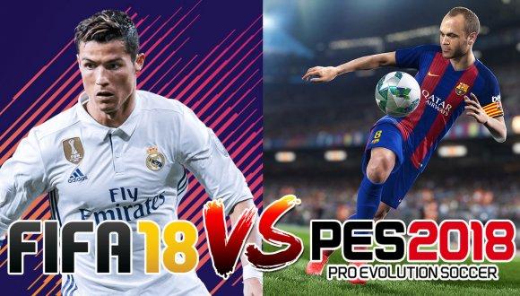 FIFA-18-vs-PES-2018