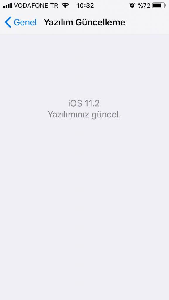 iOS 11.2'nin ilk beta sürümü yayınlandı! iOS 11.2 beta 1 sürümüyle neler geliyor?