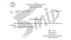 Türkiye E-Spor Federasyonu resmi olarak duyuruldu!
